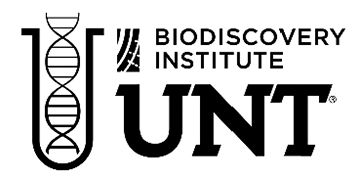 University of North Texas - BioDiscovery Institute and Department of Biiological Sciences logo