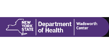 Wadsworth Center, New York State Dept of Health logo