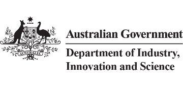 Australian Government Department of Industry, Innovation and Science logo