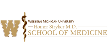 Western Michigan University Homer Stryker M.D. Sch logo