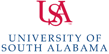 Dept of Marine Sciences, University of South Alabama  logo
