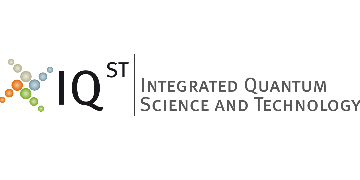 Center for Integrated Quantum Science and Technolog (IQST) logo