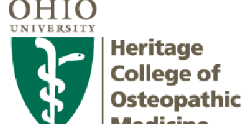 Ohio University Heritage College of Osteopathic Medicine logo