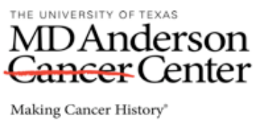UTMD Anderson Cancer Center logo