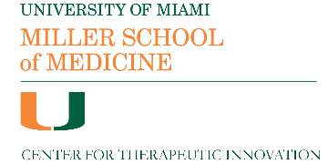 University of Miami Miller School of Medicine Center for Therapeutic Innovation  logo