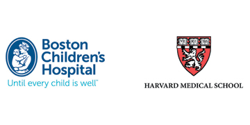 Harvard Medical School & Boston Children's Hospital logo