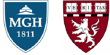 Massachusetts General Hospital, Harvard Medical School logo