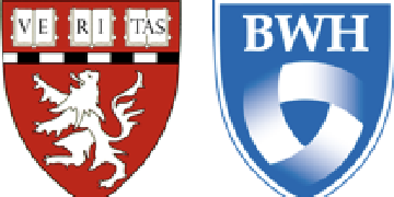 Harvard Medical School and Brigham and Women's Hospital logo