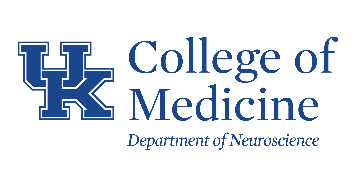 University of Kentucky Department of Neuroscience logo