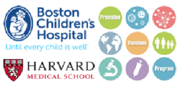Boston Children's Hospital and Harvard Medical School logo
