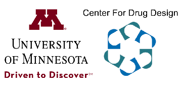 University of Minnesota Center for Drug Design logo