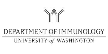 Department of Immunology - University of Washington  logo