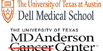 The University of Texas at Austin and MD Anderson Cancer Center logo