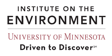 Institute on the Environment, University of Minnesota logo