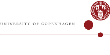 Department of Biology, University of Copenhagen in Denmark logo