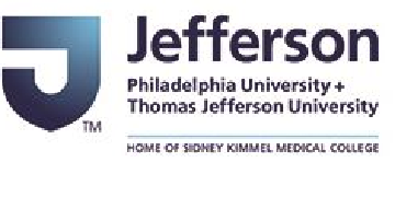 Jefferson: (Philadelphia University + Thomas Jefferson University) logo