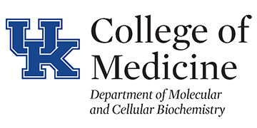 University of Kentucky, Molecular and Cellular Biochemistry Dept. logo