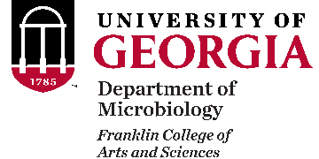University of Georgia  Department of Microbiology logo