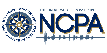 The University of Mississippi / National Center for Physical Acoustics logo