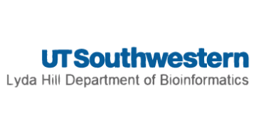 UT Southwestern Medical Center Lyda Hill Department of Bioinformatics logo
