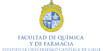 Faculty of Chemistry and Pharmacy, Pontificial Catholic University of Chile  logo