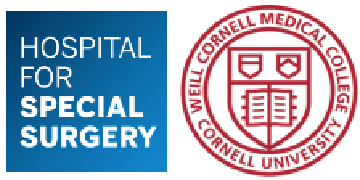 HSS Research Institute, Weill Cornell Medicine logo
