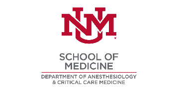 University of New Mexico Department of Anesthesiology logo