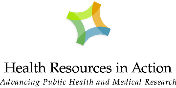 Health Resources in Action, The Medical Foundation logo