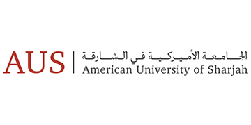 The American University of Sharjah logo