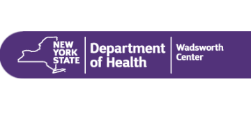 Wadsworth Center, New York State Department of Health logo