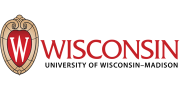 The University of Wisconsin–Madison (UW)  logo