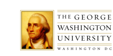 The George Washington University. logo