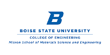 Nucleic Acid Memory Institute - Micron School of Materials Science and Engineering Boise State Univ logo