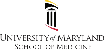 University of Maryland, Baltimore Dept of Pharmacology logo