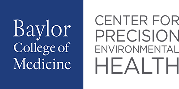 Baylor College of Medicine, Center for Precision Environmental Health logo